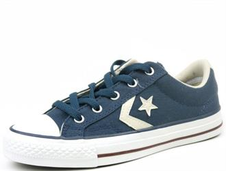ALL STARS Blu ster+streep canvas