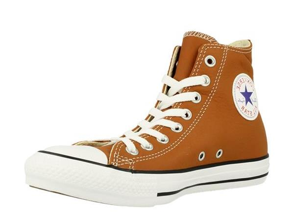 ALL STARS Cognac leder basket
