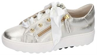 DLSPORT Champagne sneaker rits