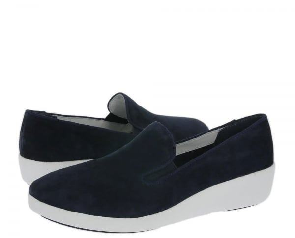 FITFLOP Blauw slip on