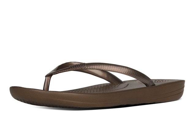 FITFLOP Brons teenslipper