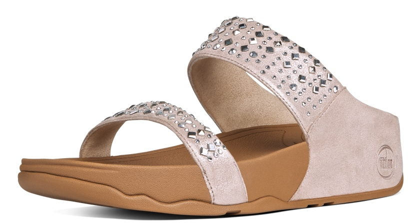 FITFLOP Nude 2 band spiegeltjes