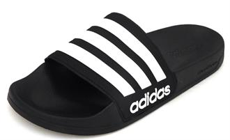 ADIDAS Blauw/wit slipper
