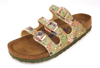 BIRKENSTOCK Flowers khaki 3 band