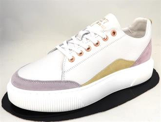 CYCLEUR DE White/lila sneaker