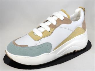 CYCLEUR DE White/mint sneaker