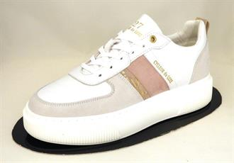 CYCLEUR DE White/misty rose sneaker