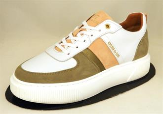 CYCLEUR DE White/olive sneaker