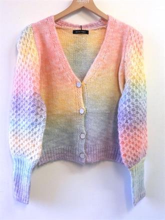 ESTELLE Rainbow vest knit