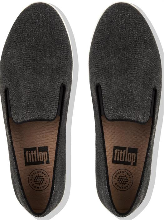 fitflop-antraciet-canvas-instap