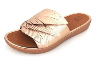 FITFLOP Roze gold veer slipper