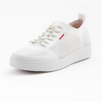 FITFLOP White knit sneaker
