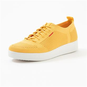 FITFLOP Yellow knit sneaker