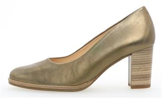GABOR Kaki metallic pump