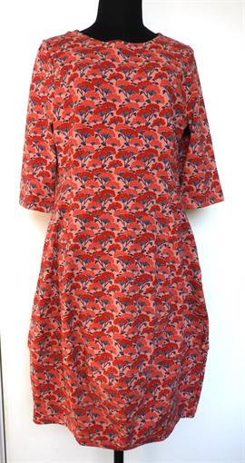 HEIDEKONIGIN Red flowerdress