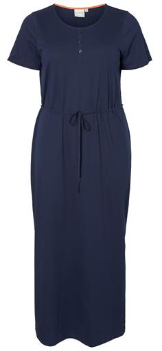 JUNAROSE Navy maxi dress