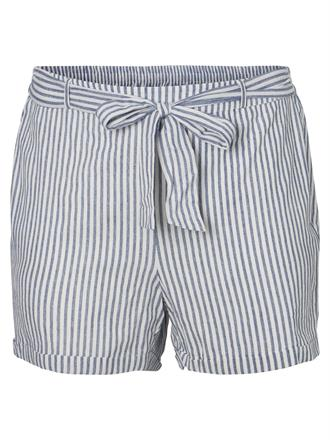 JUNAROSE Stripe short blue/white