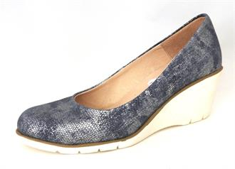 LOUISA Blu pump sleehak piton