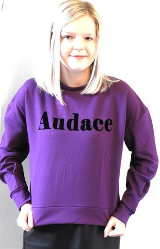 OBJECT Audace paars sweater