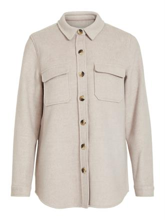 OBJECT Beige flanel jacket