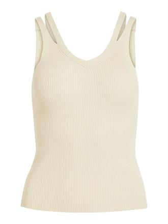 OBJECT Beige knit tank top