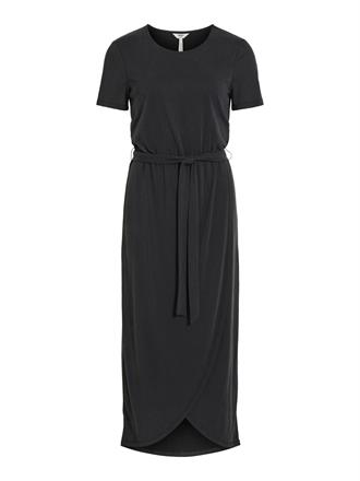 OBJECT Black modal long dress