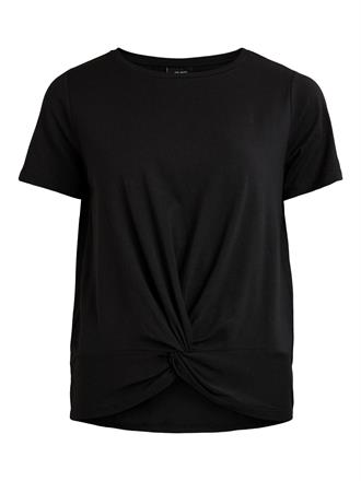 OBJECT Black tee knot