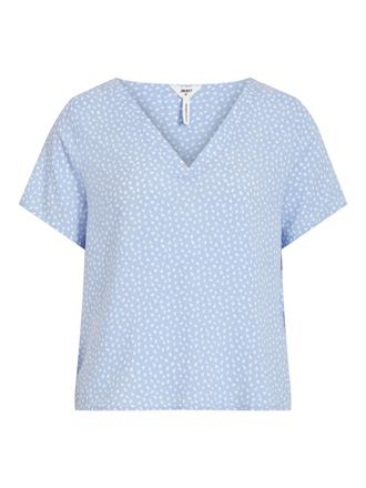 OBJECT Blue dot shirt
