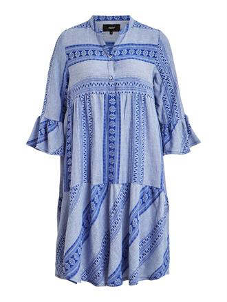 OBJECT Blue ruffle dress