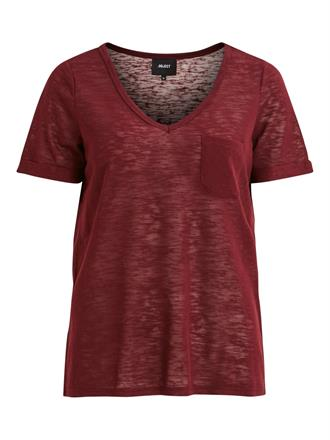OBJECT Bordeaux tee