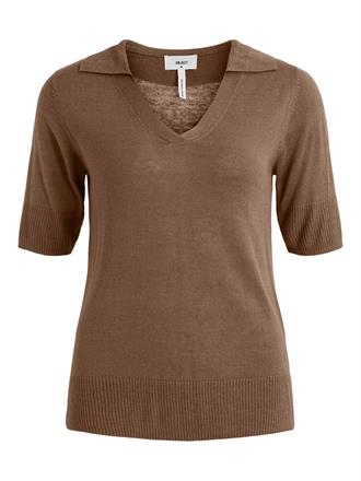 OBJECT Brown polo