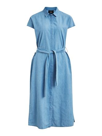 OBJECT Denim midi dress