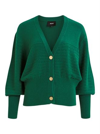 OBJECT Green knit cardigan