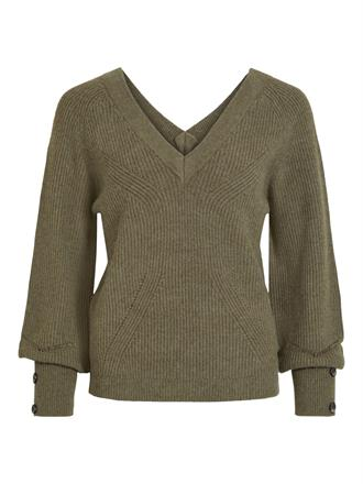 OBJECT Khaki double v knit