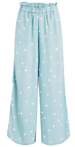 OBJECT Light blue polka dots pant