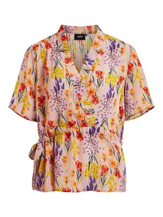 OBJECT Lila floral top
