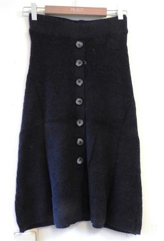 OBJECT Navy knit skirt