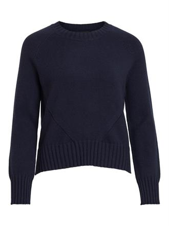OBJECT Navy soft pullover