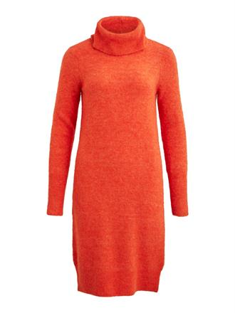 OBJECT Orange knitted dress