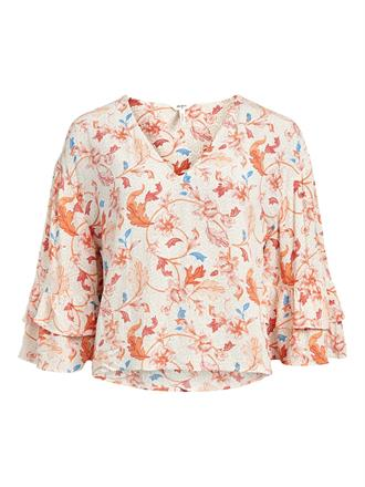 OBJECT Peach leaf blouse