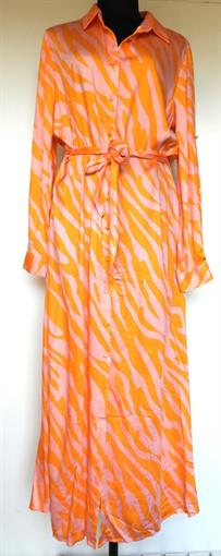 OBJECT Pink/orange long dress