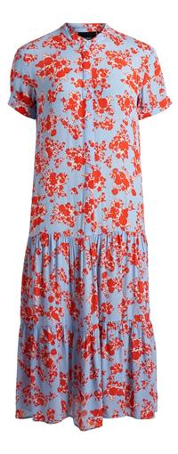 OBJECT Red & blue maxi dress