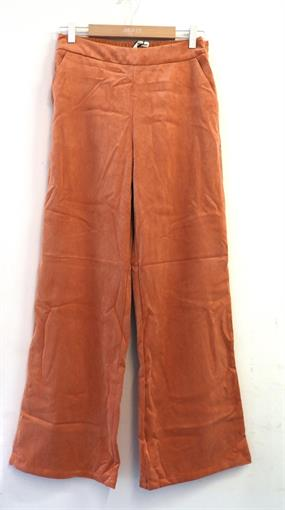 OBJECT Rust velvet pants