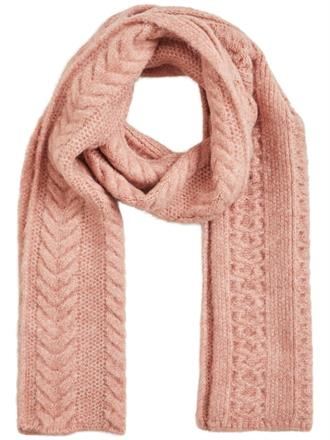 OBJECT Soft rose scarf