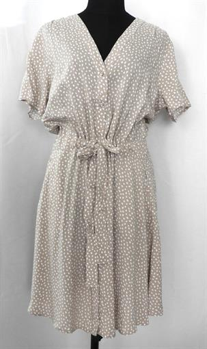 OBJECT Taupe dot shirt dress