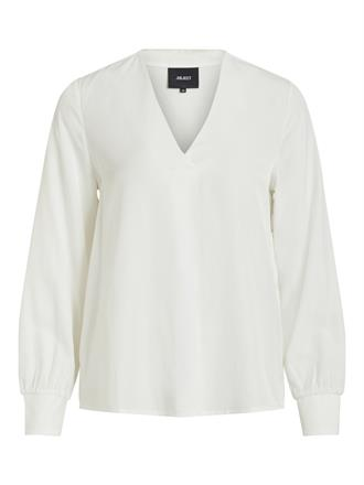 OBJECT White v-neck blouse