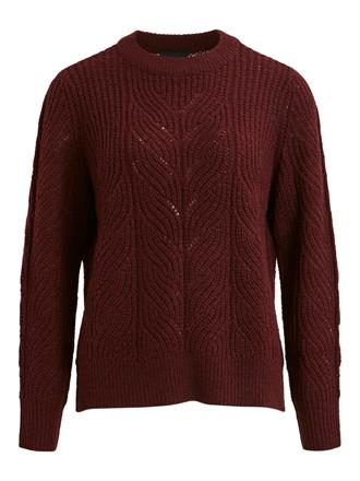 OBJECT Wine red knit