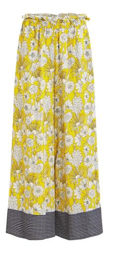 OBJECT Yellow floral pants