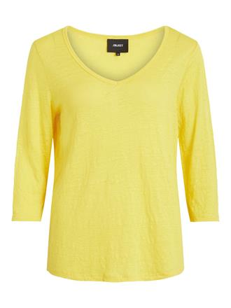 OBJECT Yellow tee 3/4