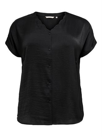 ONLY CARMA Black blouse v-neck